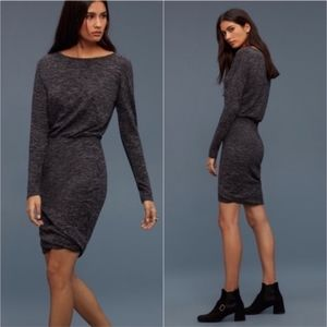 Wilfred Bercot Charcoal Dark Grey Dress
